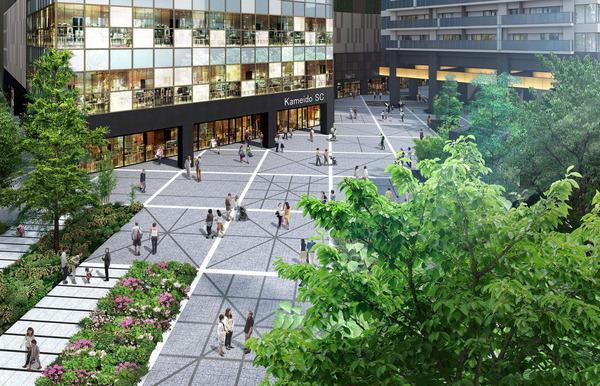 プラウドタワー亀戸クロス 大型ショッピングモール