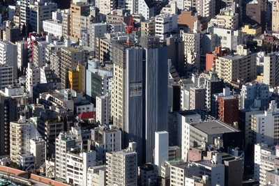 東京スカイツリーから見た大江戸タワーレジデンス