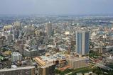 エルザタワー55から川口市内の眺め