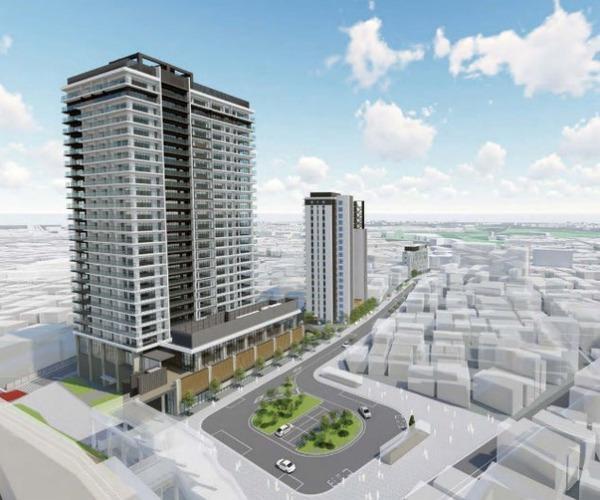 上板橋駅南口駅前東地区第一種市街地再開発事業 イメージパース