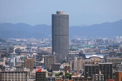 名古屋テレビ塔からザ・シーン城北