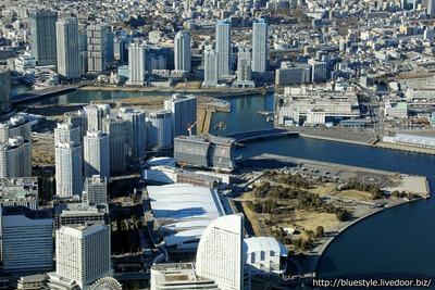 横浜ベイコート倶楽部 ホテル&スパリゾートの空撮