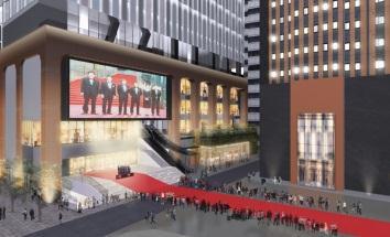 (仮称)歌舞伎町一丁目地区開発計画 映画イベントイメージ