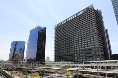 大崎駅西口の超高層ビル群