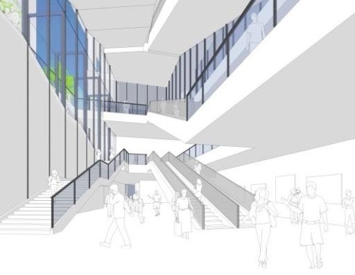 南池袋二丁目C地区第一種市街地再開発事業 地下広場のイメージ
