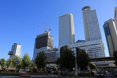 名古屋駅の超高層ビル群