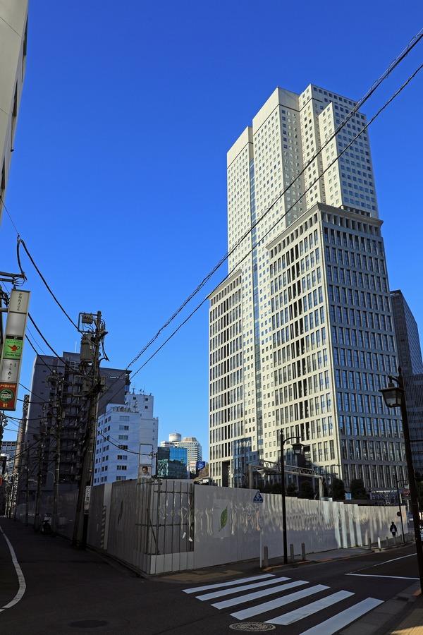 (仮称)赤坂二丁目計画と山王パークタワー
