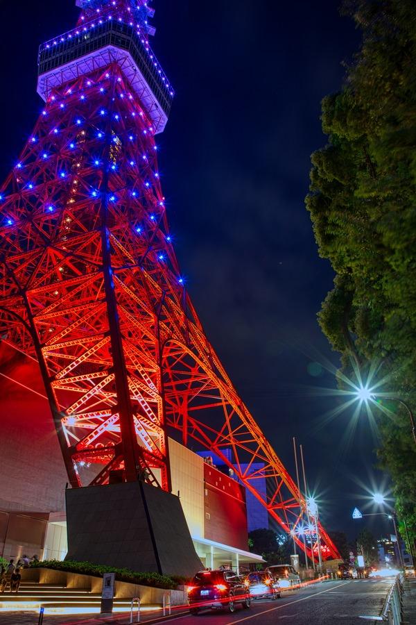 東京タワーのインフィニティ・ダイヤモンドヴェール