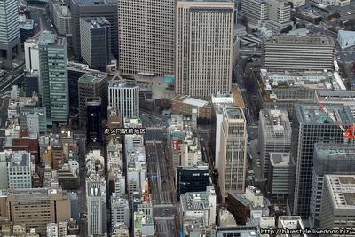 虎ノ門駅前地区の空撮