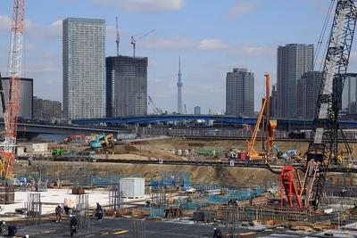 豊洲新市場と晴海