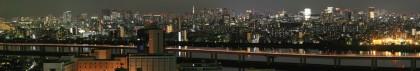 船堀から東京夜景