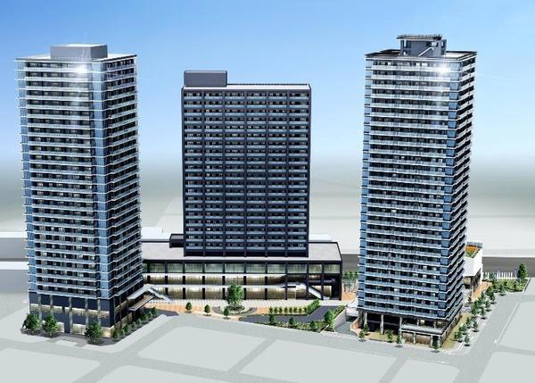 蕨駅西口地区第一種市街地再開発事業 イメージパース