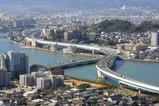 福岡タワーから福岡都市高速