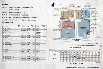 日本橋室町三丁目地区第一種市街地再開発事業の既存建物解体工事