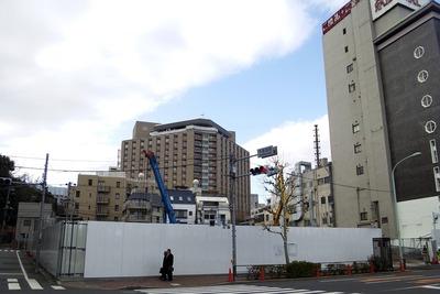 東天紅上野本店の新築工事