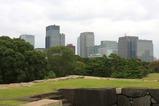 皇居から丸の内方面の眺め