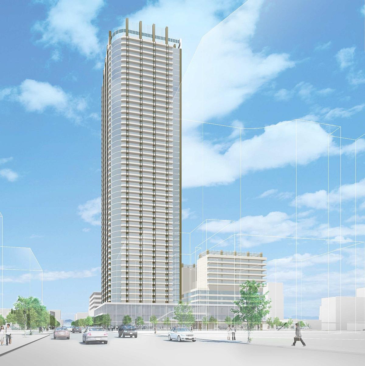 札幌「北8西1地区」は地上50階 ...