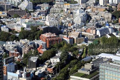 赤坂九丁目北地区第一種市街地再開発事業の建設予定地
