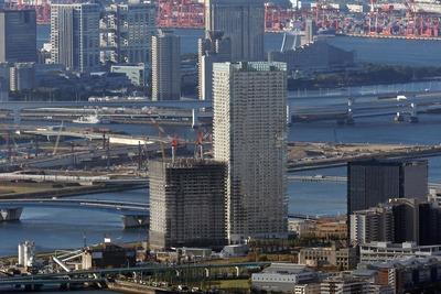 東京スカイツリーから見たザ・パークハウス晴海タワーズ