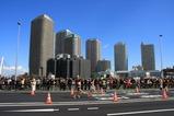 リバーシティ21と東京マラソン