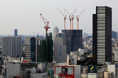 歌舞伎町・大久保方面の超高層ビル群