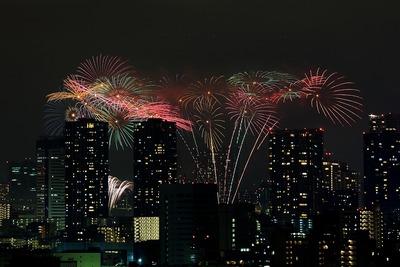 東京湾の花火大会「第24回東京湾大華火祭」