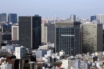 内幸町の超高層ビル群