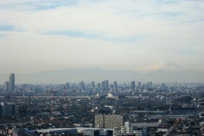 ハーモネスタワー松原から富士山