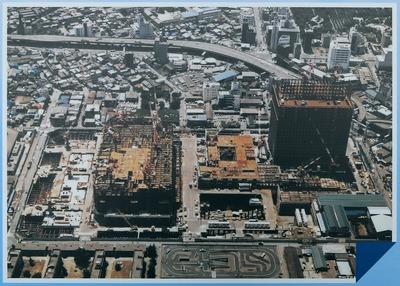 建設中のサンシャイン60(1974年10月)