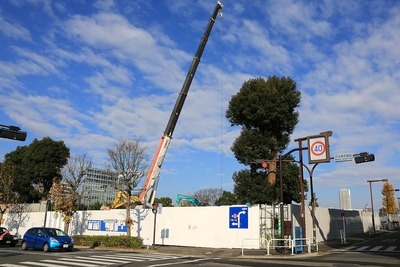 日本青年館の解体