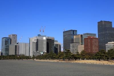大手町・丸の内の超高層ビル群