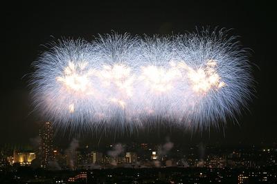 第39回江戸川区花火大会・第30回市川市民納涼花火大会