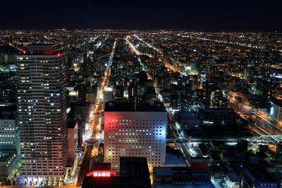 JRタワーから北側の夜景