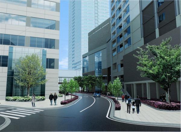南小岩六丁目地区第一種再開発事業 リングロード