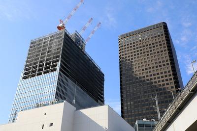 日本生命浜松町クレアタワーと世界貿易センタービル