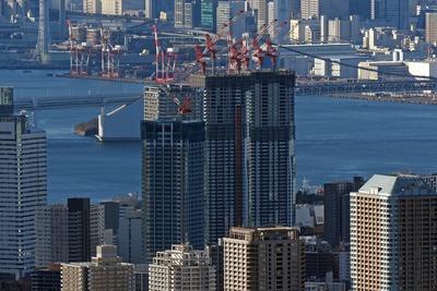 東京スカイツリーから見たドゥ・トゥール(DEUX TOURS)