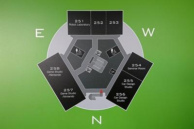 モード学園コクーンタワーの平面図