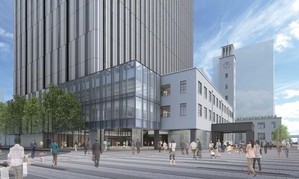 川崎市新本庁舎整備事業 復元棟イメージ