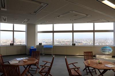タワー111展望の室内
