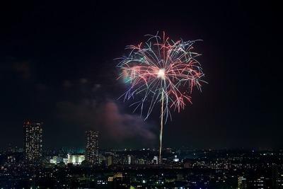 第28回 市川市民納涼花火大会・第37回 江戸川花火大会