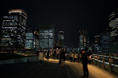 KITTE(キッテ)の屋上から見た夜景