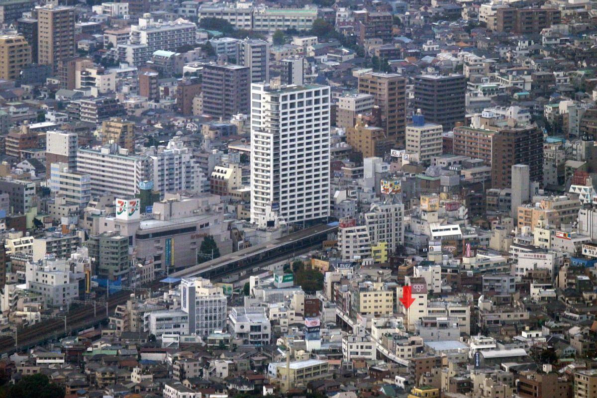 小岩駅の南側に29階建て ...