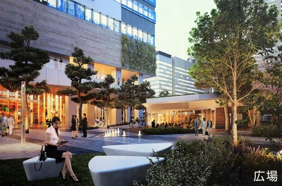 豊洲ベイサイドクロス 広場