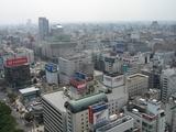 テレビ塔からの眺め