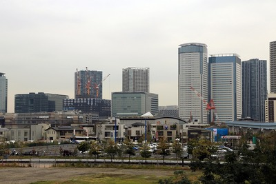 新豊洲駅から見た豊洲