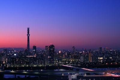 自宅マンションから見た東京スカイツリー