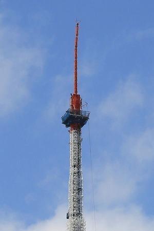 東京タワーの先