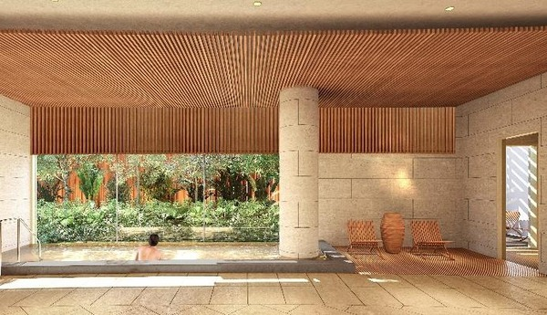 (仮称)パークウェルステイト幕張計画 大浴場完成予想イメージ