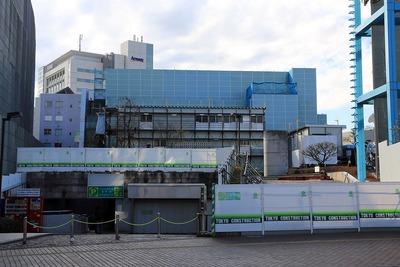 解体中の渋谷公会堂
