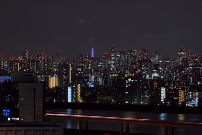 東京タワーのライトアップ再開